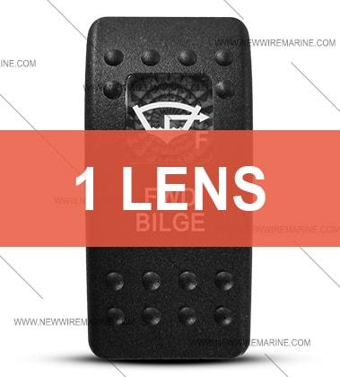 Contura II FWD Bilge switch cover