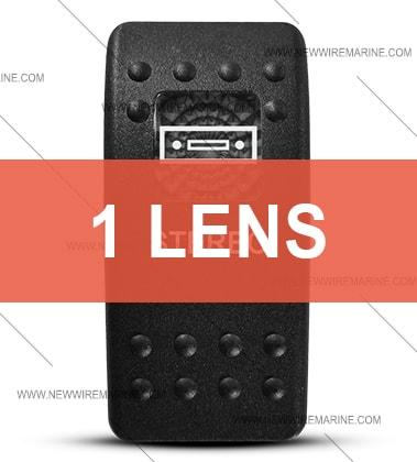 Contura II Stereo Switch Cover