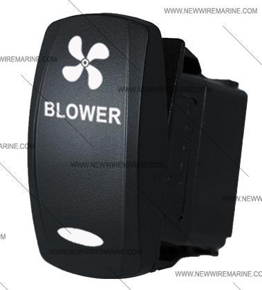 Blower rocker switch