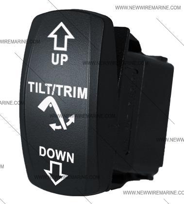 Tilt Trim Indicater Boat Trim Gauge Wiring Diagram on