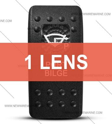 Contura II Port Bilge switch cover